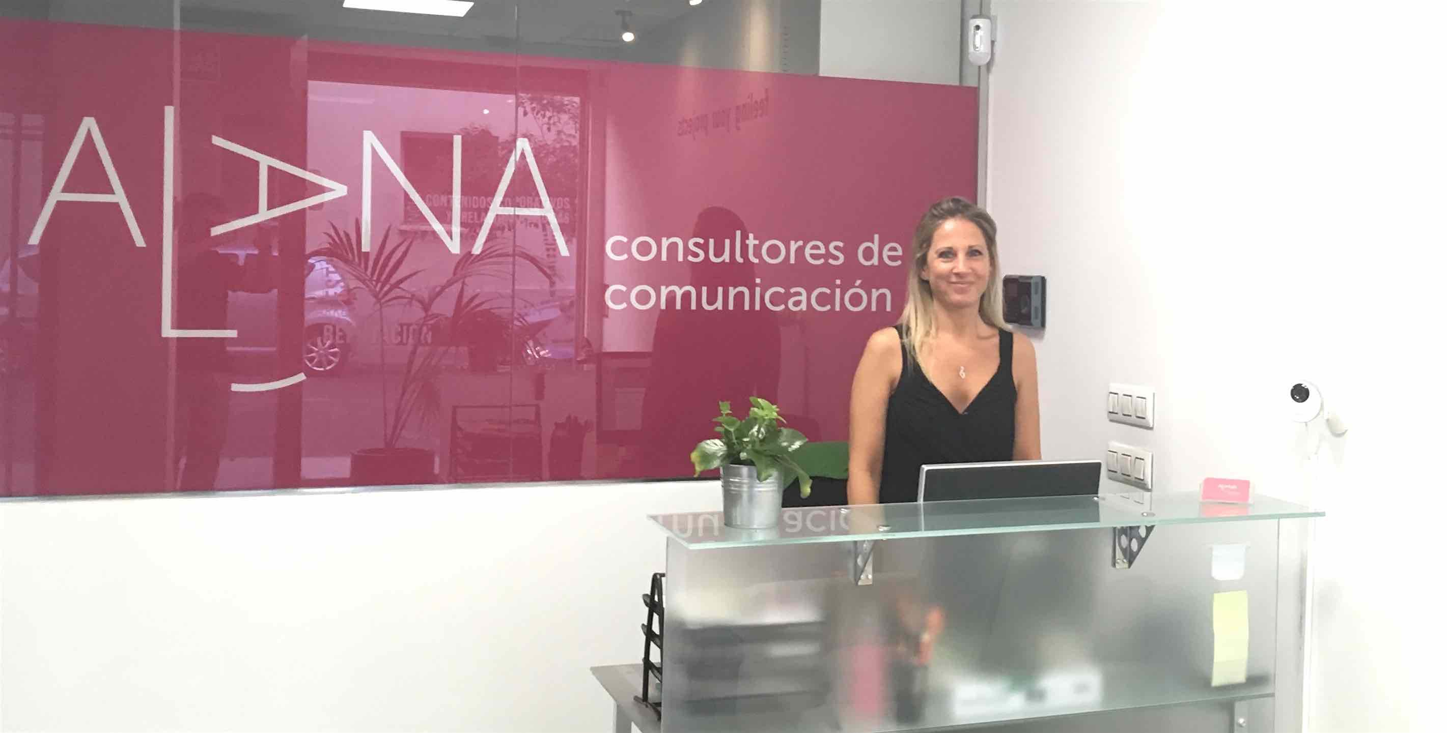 Alana Consultores de Comunicación tiene su oficina en Madrid calle Velázquez, 31